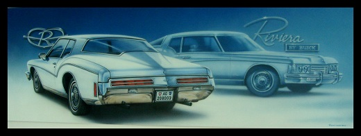 Buick,US-Car,USA,Airbrush